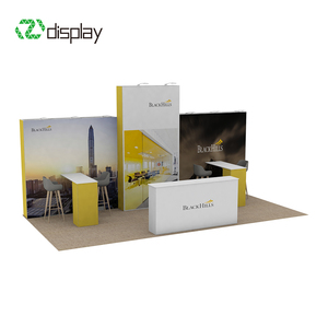 20x10ft Hight quality Cheap Pop Up Exhibit Display Booth Exhibition Stands