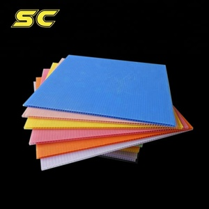 Multi-Colored Polypropylene Pp Corrugated Plastic Board Polypropylene PP Boards Polypropylene PP Advertising Board/Signs