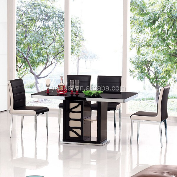 Round Glass Dining Table 6 Seater Creative Decoration Round