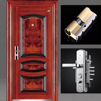 Lowes Metal Double Doors Exterior Metal Doors Wood Finish - Buy ...