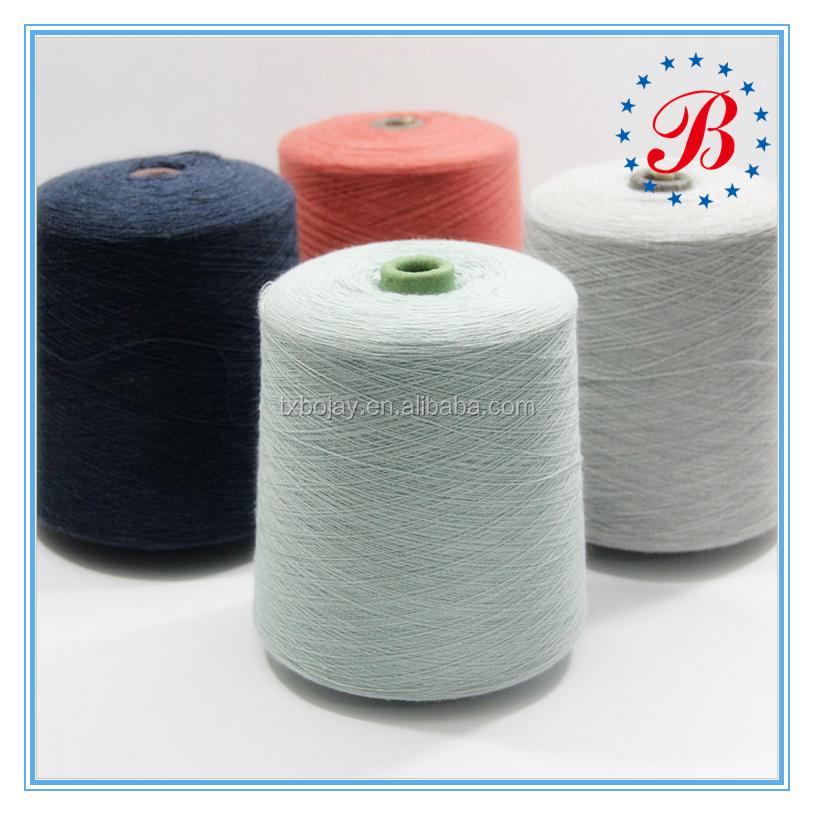 Hot Sale100%Acrylic 24NM/2 Dyed Bulked Yarn for Knitting and Weaving