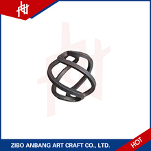 safe curved railings iron for cast bell parts