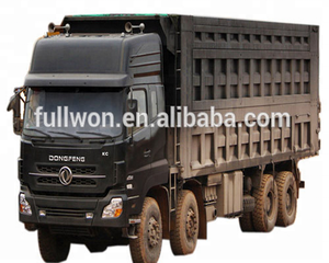 6*4 Chinese dongfeng Dump truck for For heavy construction, mining and off-road operations