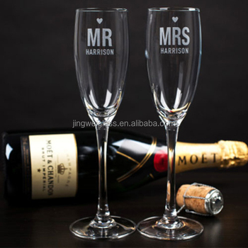 Drinking glasses wholesale crystal champagne flutes