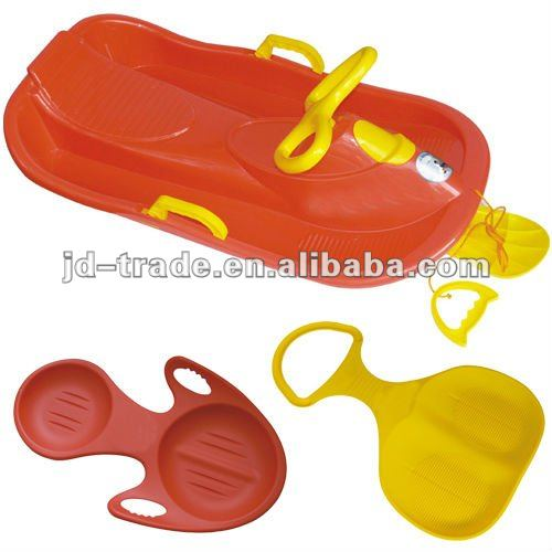 57.5*38.5*3.5cmTop Quality Plastic Snow Sledge with Promotions