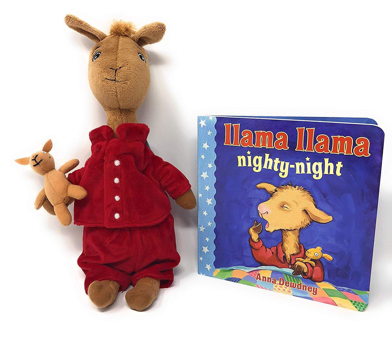 "2a237d5578 Get Quotations · Kids Preferred Llama Llama Red Pajama Large Stuffed Animal  (13"") Bundle with Llama"