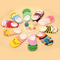 2016 New 11 Cm Baby Socks Infant lace floor socks Children s cartoon socks Boys girls