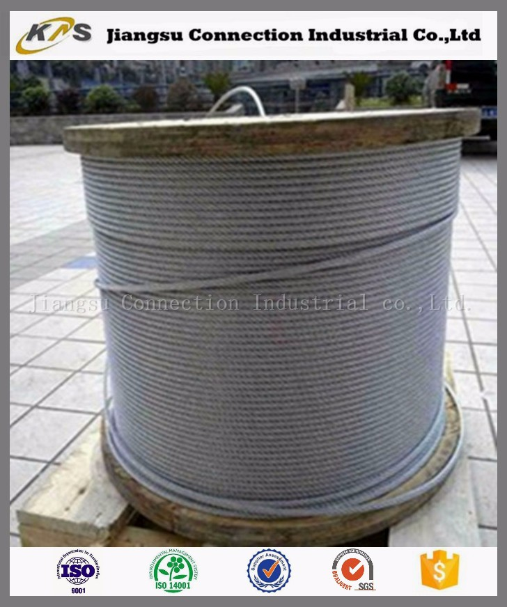 AISI Hot sale 12mm pc steel wire for suspension bridge
