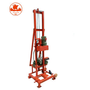 100m Simple Bore Portable Deep Small Artesian Water Well Drilling Machine