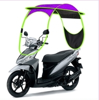Factory Direct Sale motor bike umbrella motorcycle pack for sunshade