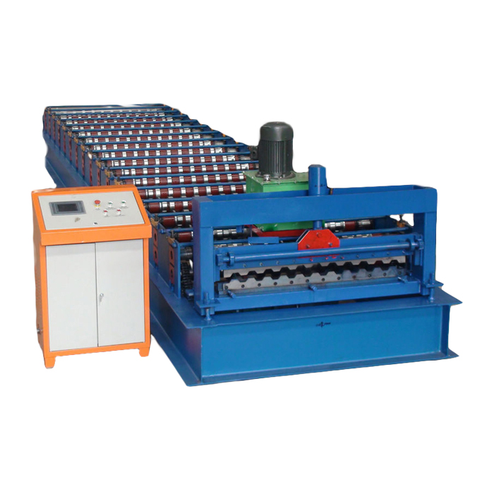 Steel Metal Roofing Sheet high rib roofing panel roll forming machine