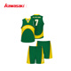 latest nepal basketball jersey uniform design color green