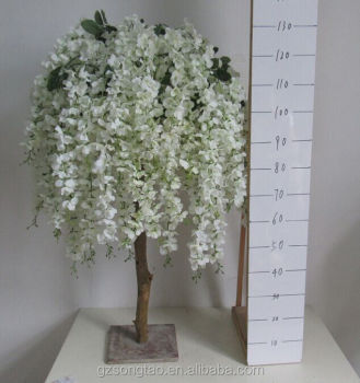 Artificial Wisteria Flower Trees Decoration Wedding Tree For Table Centerpiece In