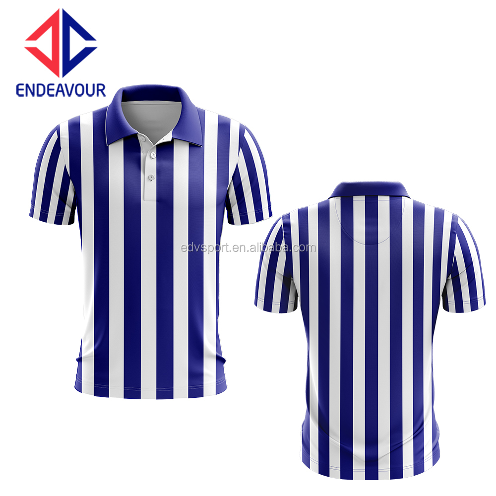 Fully sublimation fitted referee jersey
