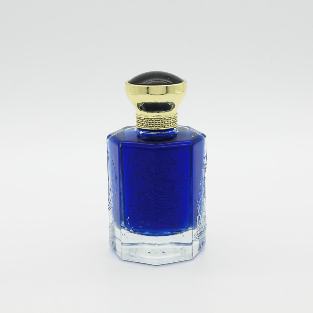 Vazio embalagens de cosméticos exclusivos projeto seu próprio frasco de perfume frasco de perfume de vidro atomizador 100 ml