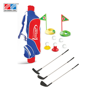 High quality golf gift set office mini golf toy set for child