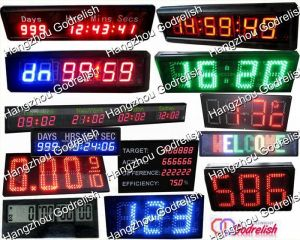 Hot selling led electronic clock with low price