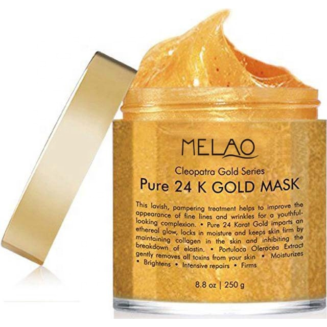 24 k or pur bio collagène beauté visage masque peel off