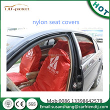 auto nylon seat cover red and blue or customized to protect the car cleaning