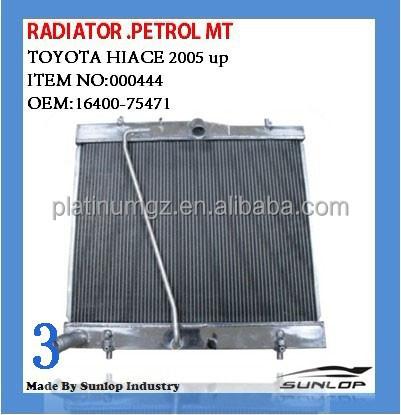 16400-75471 Radiator #000444 All Aluminum Radiator Hiace Petrol - Buy 16400- 75471,Radiator,Aluminum Radiator Hiace Petrol Product on Alibaba.com