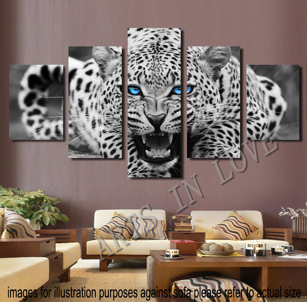 (Not Framed) Canvas Print Modern Wall Art Animal Cheetah