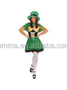 bc2b57f1 Ladies Sexy Lucky Leprechaun St Patricks Day Irish Fancy Dress Costume