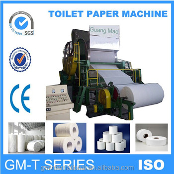 small toilet paper making machine