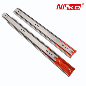 Nicety structure heavy duty ball bearing drawer slide system