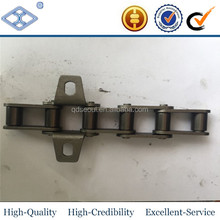 A CA S type short pitch steel harvester machinery transmission agricultural conveyor roller chain with k1 sa sk wa attachment