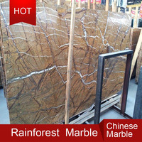 Serpentinite Marble - Rainforest Green Marble Tiles