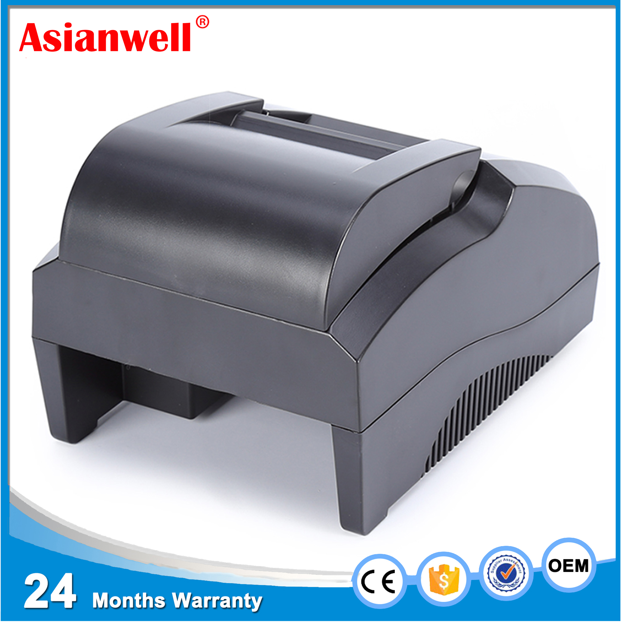 AW-5800 58mm desktop thermal printer USB mobile tickter printer