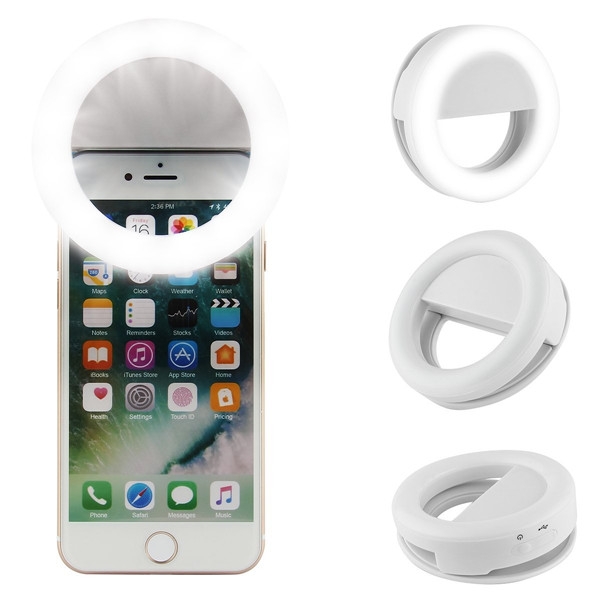 LED Selfie Ring Licht, Ring Licht Selfie Oplaadbare, Flash Light Up Voor Telefoon Selfie Licht Fotografie 2019
