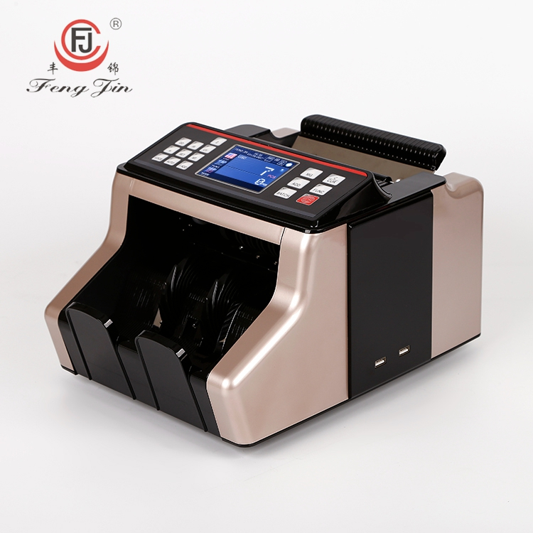 FJ-2830 Financial Equipment Mixed Denomination LCD Display Mini Banknote Counter