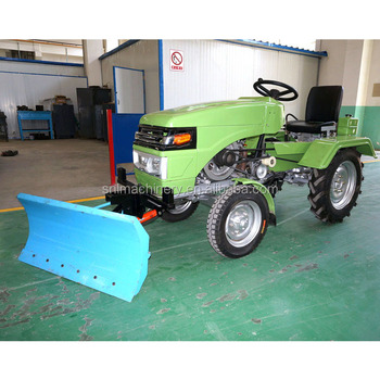 Best Seller Machinery Small Tractor Snow Plow Front End Loader Snow