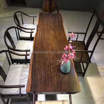 Sensational Industrial Modern Furniture Solid Black Walnut Wood Bar Table With Live Edge Slab And Grain Custom Made Size And Metal Base Buy Solid Walnut Wood Beutiful Home Inspiration Ommitmahrainfo