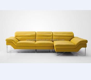 Living Room Furniture Sectional Sofa Modern Yellow Leather Sofa - Buy  Leather Sofa,Yellow Leather Sofa,Modern Sofa Product on Alibaba.com