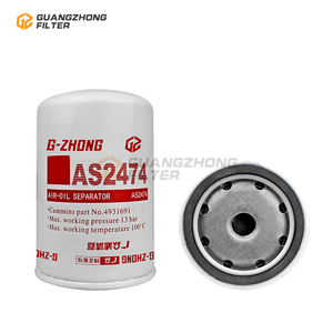 Manufacturer high Performance Lube Oil Filter AS2474 4931691 1686587 for DAF Trucks cross refence HENGST FILTER H100WU