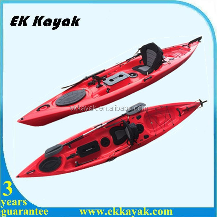 Plastic Fishing Boats For Sea Fishing With Foot Pedal And