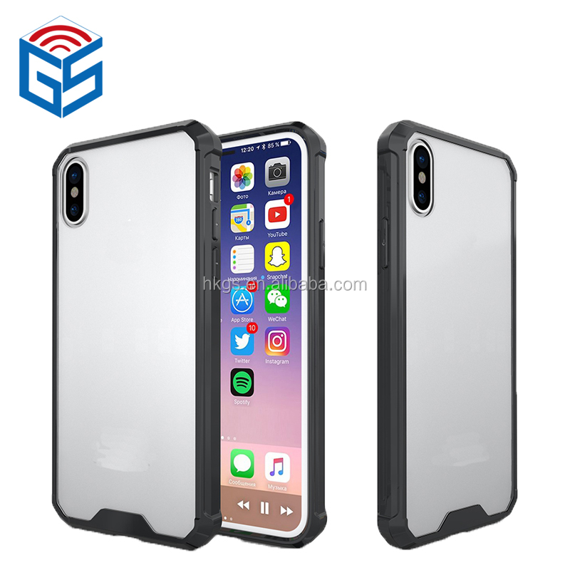 PC And TPU Combo Hybrid Cover For iPhone 8 Phone Case