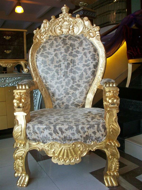 En Main À Fauteuil Lion Rembourré Sculpté Bois fauteuil Confortable D'or Buy Recouvert Avec Royal La Bois Sculpture PXOiukZ