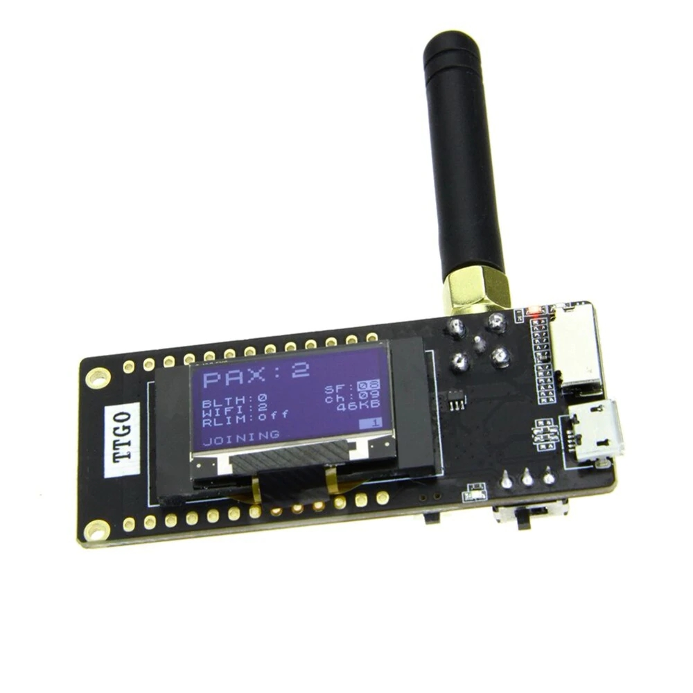 Ttgo Lora32 V2 1_1 6 Version 433/868/915mhz Esp32 Lora Oled 0 96 Inch Sd  Card Bluetooth Wifi Wireless Module Esp-32 Sma - Buy Ttgo Lora32 V2 1_1 6