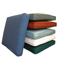 Polyester fabric outdoor waterproof foam seat cushion for office chairs
