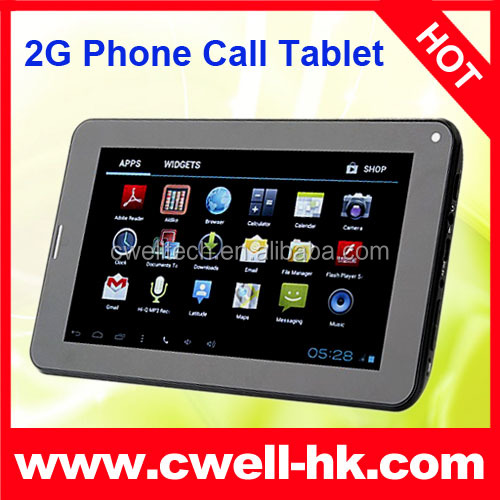 Boxchip 86V 2G Tablet PC 7 Inch Capacitive Touch Screen Android 4.4 GSM Phone Call with Dual Camera