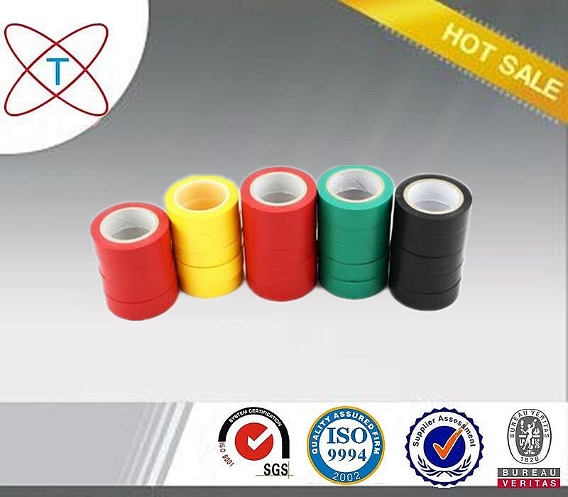 China Manufacturer Electrical Air Conditioning Pipe Thermal PVC Insulation Tape Log Roll For Sale