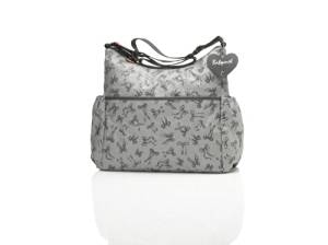 95bbd051d6e9 Get Quotations · Babymel Big Slouchy Bow Grey Changing Bag by Babymel