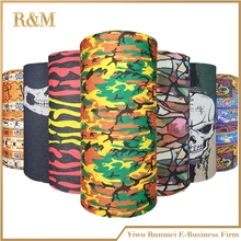 Army camouflage Desert Grass skull motorcycle tube scarf head lids face Shield Outdoor Magic Seamless Bandana Multifunctional