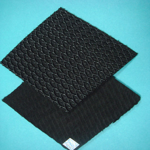 plastic Geosynthetic Geocomposite drainage net cell