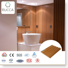 Rucca WPC interior decoration wood wall panels, waterproof good price bathroom wall board 204*16 China Supplier