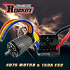 Rocket 4-poles powerful 4076/6D with 120A esc motor combo for rc toy model