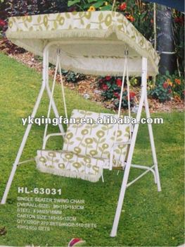 Bon Single Seat Garden Swing Chair With Canopy